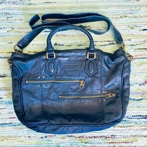 Liebeskind Blue Leather Tote